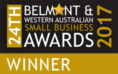 ISA proud to be announced a winner in the 24th Belmont & Western Australian Small Business Awards 2017 – Spirit of Australia Award!